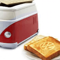 Kitchen Appliance Antique Hutch Foodista | The Vw Minibus Toaster Is A Rare Applicance