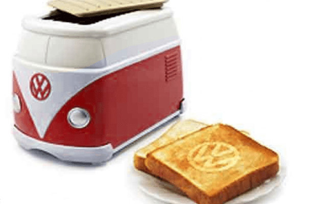 bbq kitchen outdoor ideas for small spaces foodista | the vw minibus toaster is a rare applicance