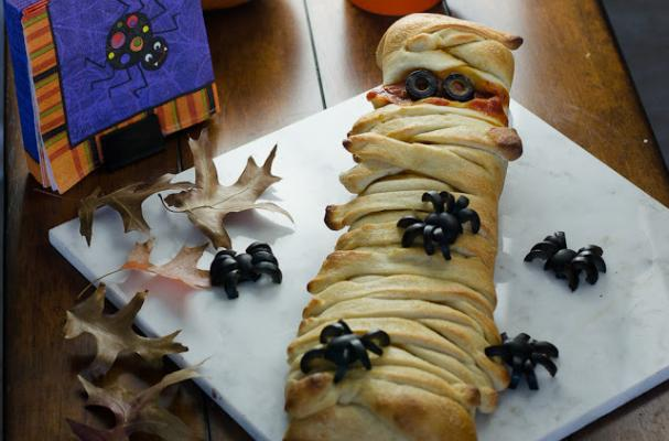 Foodista  A Mummy Calzone is an Easy Halloween Eat