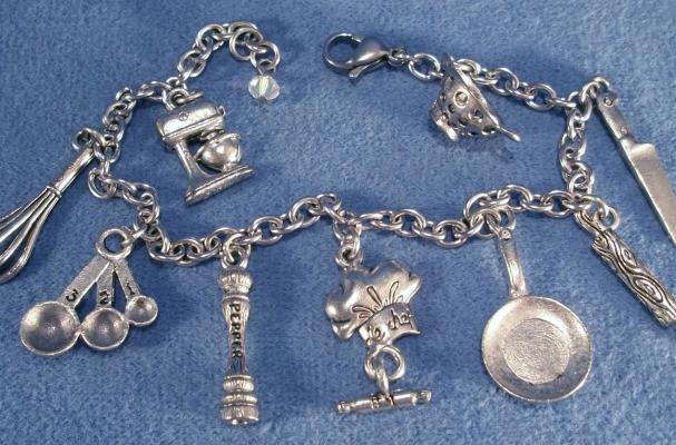Foodista  The Love to Cook Charm Bracelet is the Perfect
