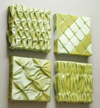 Easy Fabric Wall Art from Fairfield: National Sewing Month ...