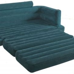 Intex Pull Out Sofa King Size Bed Mattress Birmingham Collection Inflatable And Home