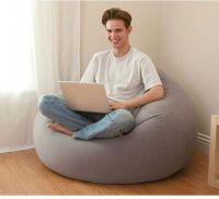 Intex Inflatable Chair Grey (68579), review and buy in ...