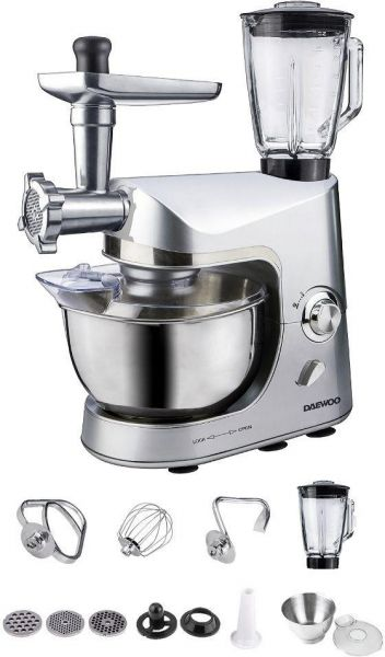 kitchen machine table top daewoo multi professional 1200 w pr37dsx5055 this item is currently out of stock