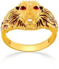 Buy Malabar Gold Men's 22K Band Gold Ring