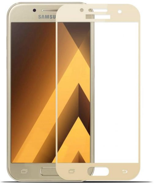 Orion Tempered Glass Screen Protector For Samsung Galaxy A7 2017 A720 Gold