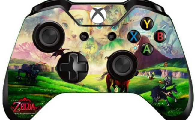 Film Stickers Skins For Xbox One Controller Zelda Style