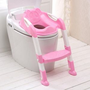 summer potty chair dining chairs world market buy baby infant buddy yulan uae souq com toddler kids toilet training safety adjustable ladder seat step pink