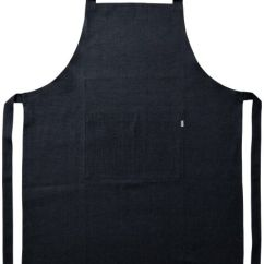 Kitchen Aprons Rock Backsplash Black Bib Apron Unisex Cooking Chef Durable Machine Washable