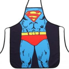 Kitchen Apron For Kids Menards Kitchens Buy Lincoln Parada Allsharq Royalford Uae Souq Com 3d Funny Aprons Children Cartoon Superman Dinner Party Cooking Kid Baking Accessories