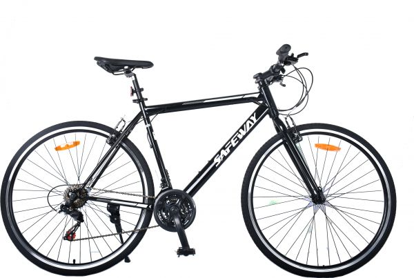 sports bicycle, hybrid, structure, iron, transmission
