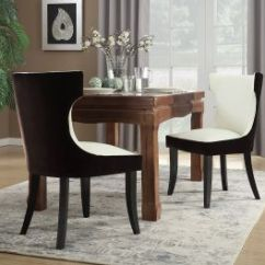 Jerome's Swivel Chairs How High To Install Chair Rail Molding Buy Jerome Powell Dining Set Espresso Office Star Furniture Iconic Home Conrad Side Velvet Pu Leather Wood Frame Modern Transitional Brown Light Beige 2pc