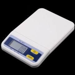 Kitchen Weight Scale Countertops Orlando 3kg 0 5g Digital Electronic Food Kg Oz Lb With Retail Box H4984
