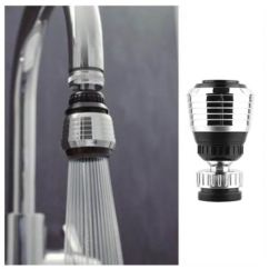 Water Efficient Kitchen Faucet Remodeled 360 Rotate Swivel Nozzle Filter Adapter Saving Tap Aerator Diffuser Accessories Souq Uae