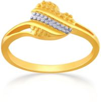 Malabar Gold Women's 22K Promise Gold Ring