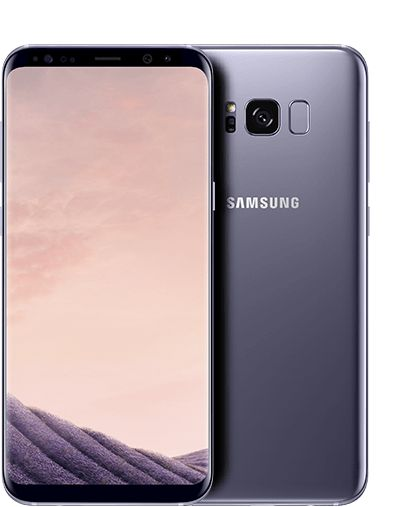 Image result for Samsung Galaxy S8 - Orchid Gray - 4GB/64GB - 5.8""