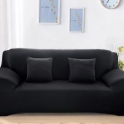 Sofa Covers Online Dubai Next Bed Toulouse Sale On Cover Fabienne Couch Coat Knight Bridge Uae Souq Com Home Decor Seater For Three Black Color
