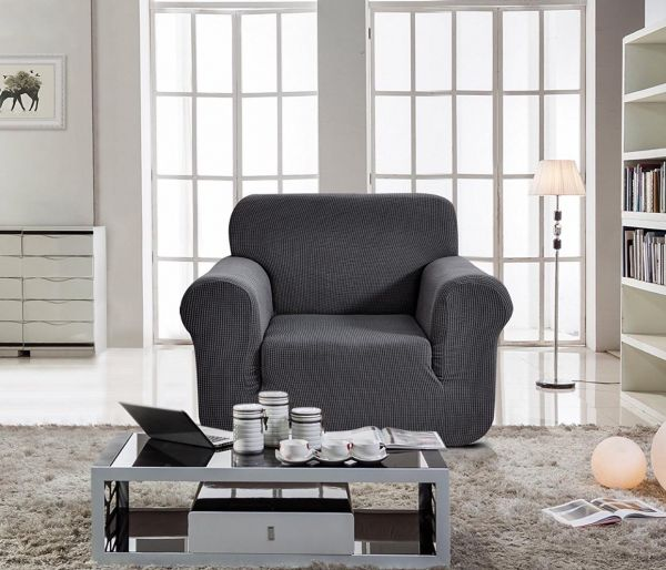 sofa gray color crate and barrel lounge cleaning home decor cover seater for one grey souq uae 63 00 aed