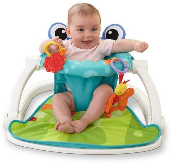 chair to help baby sit up pressed back kitchen chairs floor seat activity center infant feeding playing bfsacs souq uae