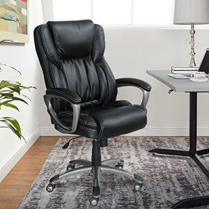 la z boy trafford big and tall executive office chair vino wedding covers resale buy serta bonded leather brown works black