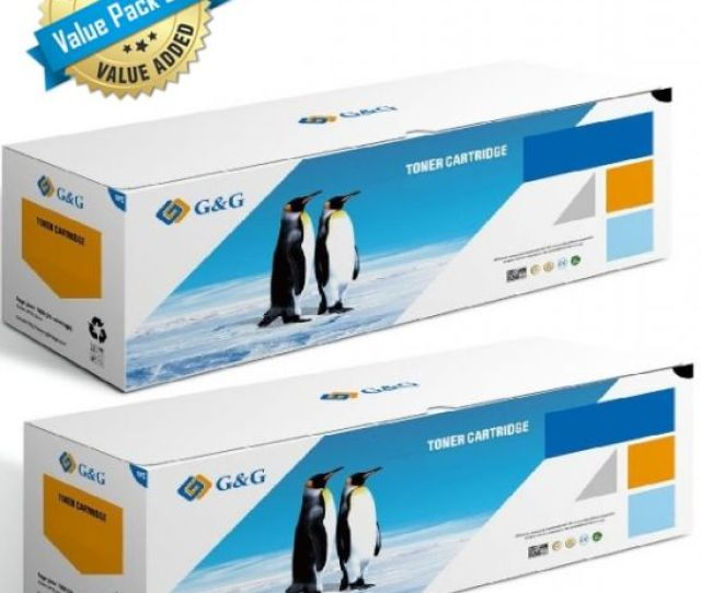 Gg Premium Compatible Black Toner For Hp 70a Q7570a Value Pack Of 2