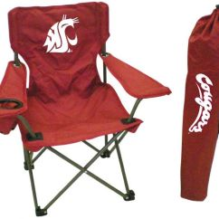 Youth Folding Chair Childrens Chairs With Arms 2 Rivalry Ncaa Washington State Cougars Carrying Case Ksa Souq