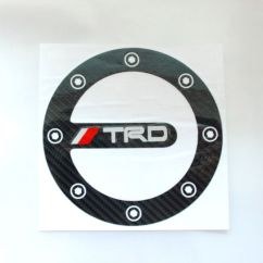 Toyota Yaris Trd Uae Grand New Avanza Veloz 1.3 Fuel Door Cap Cover Round Sticker Decal Emblem Corolla This Item Is Currently Out Of Stock