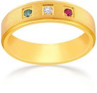 Malabar Gold Men's 22K Band Gold Ring