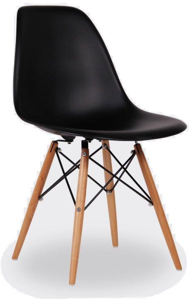 black plastic chair with wooden legs couch covers walmart addison ash seat souq uae