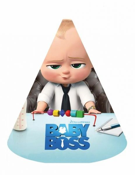 Boss Baby Birthday Party Hats 6pcs Party Supplies Party Items Kids