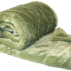 Xl Sofa Throws Fabrics Australia Boon Plain Faux Fur Throw Couch Cover Blanket 50 X 60 Sage Green