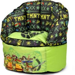 Ninja Turtles Chair Drop Leaf Table With Hidden Chairs Nickelodeon Teenage Mutant Toddler Bean Bag Green Souq Uae