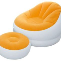 Inflatable Camping Chair Round Rocking Buy Intex Bestway Aero Uae Souq Com 68572 For And Trips 2pcs Orange