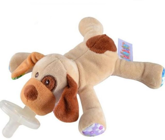 Wubbanub Infant Pacifier Puppy