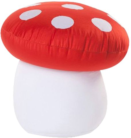 mushroom bean bag chair steel to the head childhome polyester expandable kids beanbag red 379 00 aed