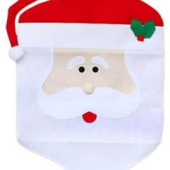 Holiday Decorative Chair Covers Refurbished Wooden Chairs Christmas Supply Red Handmade Santa Claus Non Woven This Item Is Currently Out Of Stock