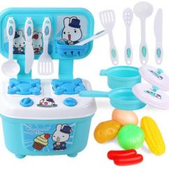 Kids Kitchen Toys Counters And Backsplash Cooking Toy Accessorie Food Souq Uae