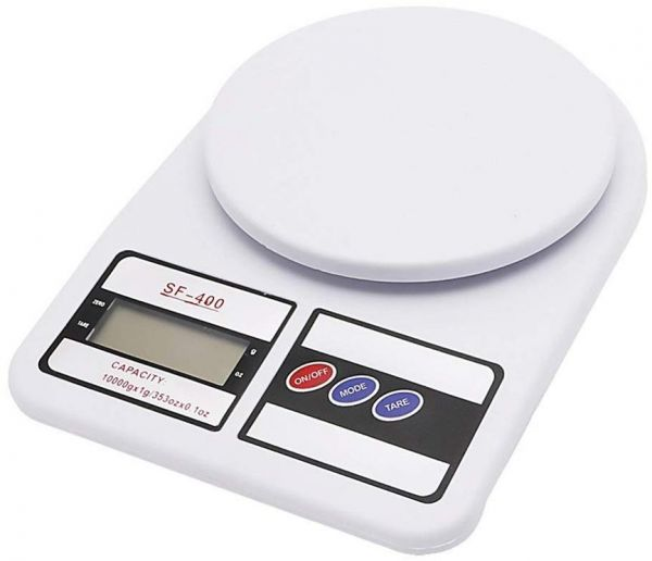 kitchen scales oak table and chairs electronic digital food with lcd display weighing scale for baking cooking medicine 10kg 0 01g white