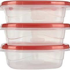 Rubbermaid Kitchen Storage Containers Free Standing Shelves Takealongs Divided Snacking Food 2 Cup Tint Chili 3 Count 1859699