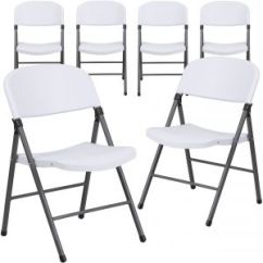 Folding Chair Dolly 50 Capacity Pottery Barn Anywhere Cover Shrunk Buy Flash Furniture Uae Souq Com 6 Pk Hercules Series 330 Lb White Plastic With Charcoal Frame