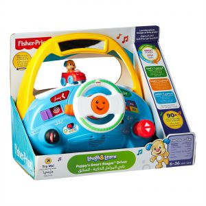 fisher price laugh and learn chair pink design terms buy smart stages the dvd puppy s driver dld04 activity amusement toy