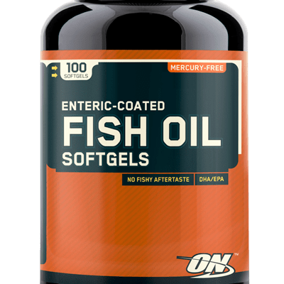 FISH OIL SOFTGELS – Optimum Nutrition – 100 gélules