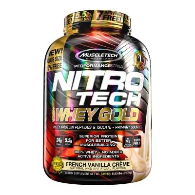 NITRO-TECH WHEY GOLD – MuscleTech – 2490g