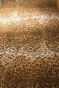 Leopard Carpet