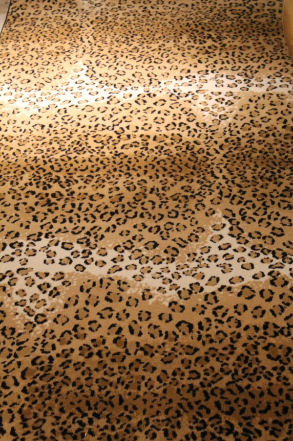 Leopard Print Carpet Rugs