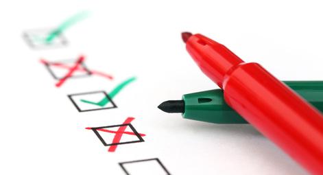 Edit checklist