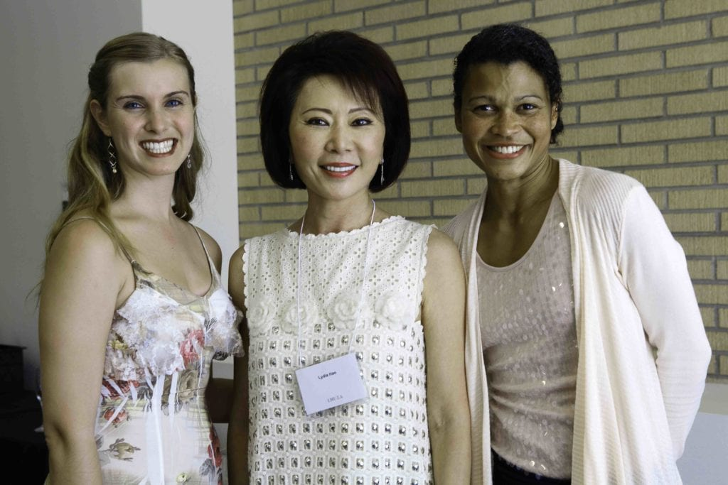 Lydia Hao and students
