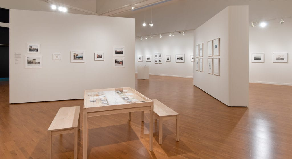 Erin Mallea's art exhibit