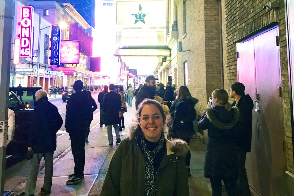 IMG 2283 1 - A Theatre Arts Major Goes Backstage at Hamilton and Fulfills a Dream