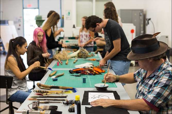 """Makers Space 6 - Experimenting with New Techniques in Innovative Studio Arts """"Makerspace"""""""